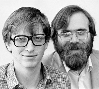 Билл Гейтс и Пол Аллен