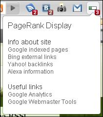 PageRank Display