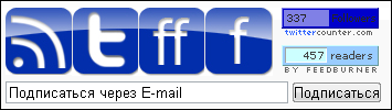 ARCHIL.NET - варианты подписки на блог