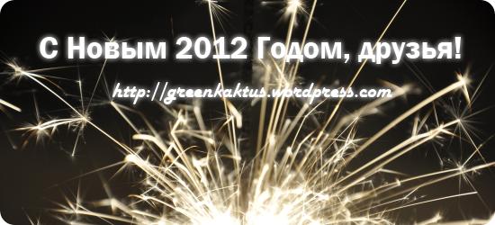 С Новым 2012 Годом, друзья!