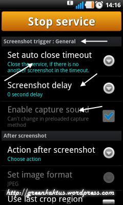 Screenshot UX Trial